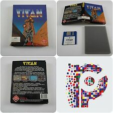 Titan A Titus Game for the Commodore Amiga Computer tested & working