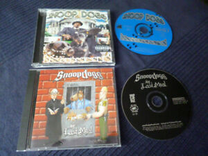 2 CDs Snoop Dogg - Tha Last Meal (2000) & Da Game Is To Be Sold Not Told (1998)