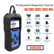For VW Audi Car SAS SRS ABS TPS Code Reader OBD2 Full System Diagnostic Scanner
