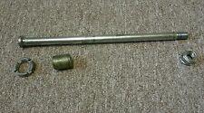 HONDA HAWK GT NT 650 OEM swing arm bolt & spacer & lock nut (4 pcs) 1988 - 1991