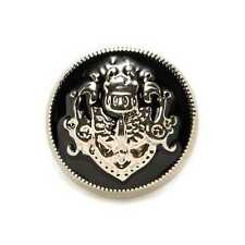 5pcs Metal Buttons Lion Enamel for Sewing Scrapbook Clothing Gift Crafts 10-25mm