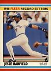 A0385- 1988 Fleer Record Setters Baseball #s #1-44 -You Pick- 10+ FREE US SHIP