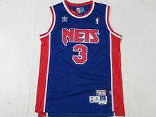 New Drazen Petrovic #3 New Jersey Nets Throwback HWC Swingman Jersey Blue