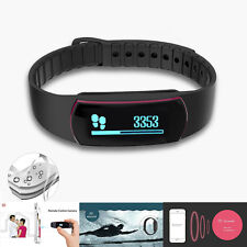 New Pedometer Wristband Bluetooth Smart Bracelet Activity Fitness Tracker Watch