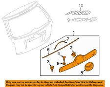 MAZDA OEM 13-15 CX-9 Liftgate Tailgate-Finish Molding TK215081070