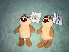 DISNEY STORE BEANIE BABY PLUSH TOY CHIP AND DALE LOT OF 2 286f8ed769b8