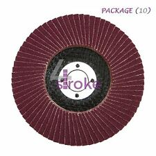 "Flap discos de lijado 40 y 80 Grit mezcla de óxido de aluminio Amoladora Angular 4.5"" 115mm"
