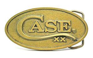 Case Brass Belt Buckle