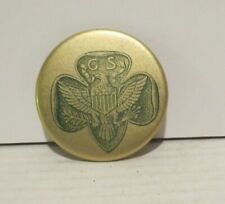 1940's vintage GIRL SCOUTS celluloid pocket mirror SCARCE excellent condition
