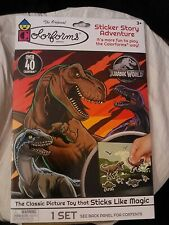 COLORFORMS~JURASSIC WORLD~STICKER STORY ADVENTURE SET~0VER 40 FORMS~2019 NEW/PAC