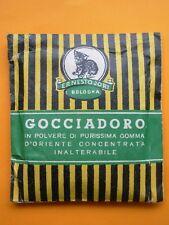 BUSTINA COLLA GOCCIADORO PURISSIMA GOMMA D'ORIENTE ERNESTO JORI BOLOGNA ANNI '30
