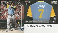 Logan Morrison LOMO RAYS TOPPS NOW PLAYERS WEEKEND NICKNAMES PW-132 SP 65