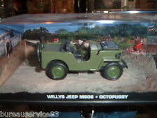 VOITURE NEUVE JAMES BOND 007 CAR COLLECTION - WILLYS JEEP M606