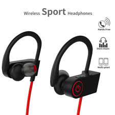 77736d24e2a Sweatproof Wireless Bluetooth Earphones Sport Gym Headphones For iPhone  Samsung