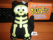 Bones the Cat Glow-In-The-Dark Halloween Plush from Just For Laughs - NEW W/TAGS