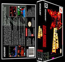 Metal Warriors  - SNES Reproduction Art Case/Box No Game.