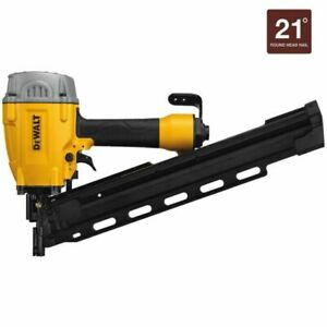 DEWALT DWF83PL Pneumatic 21 Degree Plastic Round Head Framing Nailer FAST SHIP