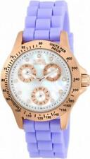 Invicta Speedway 21988 Women's Round Mother of Pearl Day Date Analog Watch