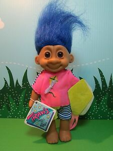 "KITE FLYING TRAVIS -7"" Russ Troll Doll - NEW IN ORIGINAL WRAPPER"