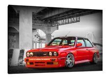 BMW E30 M3 - 30x20 Inch Canvas Art - Framed Picture Print Classic Car Art