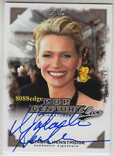 2014 LEAF POP CENTURY LIVE AUTO: NATASHA HENSTRIDGE #1/20 ON CARD AUTOGRAPH 1/1