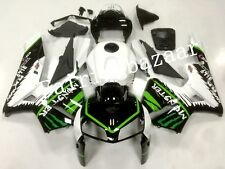Fit for CBR600RR 2005 2006 Black White Green ABS Injection Plastic Fairing Kit