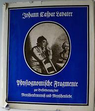 Lavater, Psychologie, Johann Caspar Lavater, Physiognomie, Philosophie,