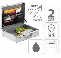 Aluminium ABS Attache Briefcase Sales Display Case 2ND #FI2992