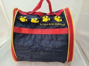 Build A Bear Workshop Backpack Pet Dog Cat Carrier Bag With Mesh Windows Straps