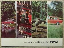 VAUXHALL VIVA Car Sales Brochure 1964-65 #V1526/2.65