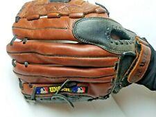 "New listing Wilson A1850 Select Leather Baseball Glove Mitt 12.5"""