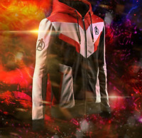 Marvel The Avengers 4 Endgame Quantum Realm Cosplay Costume Hoodies Men Hooded A