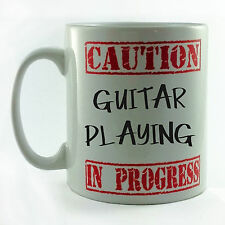 NUOVO cautela GUITAR Riproduzione in corso REGALO TAZZA COPPA presenti Guitarist MUSICA