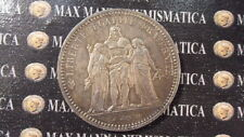 "FRANCIA FRANCE 5 FRANCS FRANCHI 1873 ""A"" ARGENTO SILVER cod. FRANCIA-29"