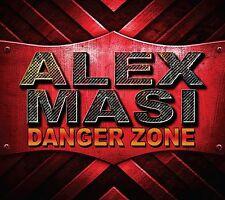 ALEX MASI - DANGER ZONE CD (KILLER INSTRUMENTAL GUITAR SHRED MONSTER)