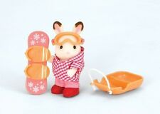 Calico Critters Winter Sports Fun Set, NEW by International Playthings