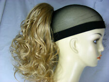 "Hairpiece Clip-On PonyTail 12"" Diamond Brand Shades of Blonde"