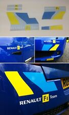 Renaultsport Megane Renault F1 Team Decals Stickers Graphics kit