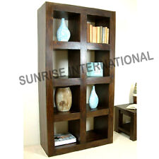 Wood Wooden Cube bookcase book shelves / Display rack (large) !
