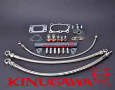 Turbo Oil & Water Line Kit (Full Kit) Nissan RB25DET Skyline Stock T3 Top Mount