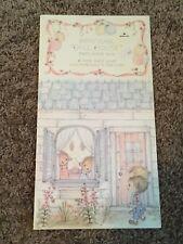 Vintage Hallmark Betsey Clark Doll House Party Favor Paper Dolls Unused