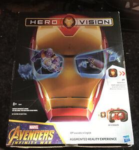 Marvel Avengers Infinity War Hero Vision Iron Man AR Experience Boys Gift Toy