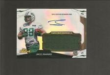2014 topps finest Jace Amaro Auto Player Worn Jersey RC NY Jets Rookie card