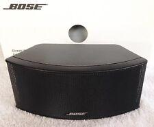 Bose Jewel Horizontal Center Channel Speaker Black MINT Lifestyle 38/48/V30/V35