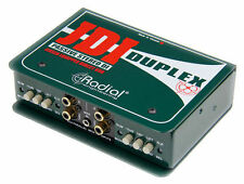 JDI DUPLEX Radial JDI STEREO DIRECT BOX JDI-DUPLEX - B-STOCK DEAL - Ships Quick