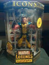 """Marvel Legends Icons Wolverine """"Unmasked Variant"""" Toy Biz 2006"""