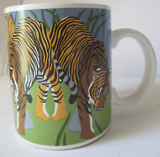 "VINTAGE OTAGIRI ""TIGER TIGER"" COFFEE MUG"