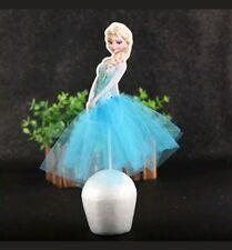 21cm Frozen Elsa Cake Decoration Cupcake Topper Party Supplies AU Stock Delivery