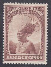 Belgian Congo 1931 - 1F 25c Brown - SG190 - Mint Hinged (D8E)