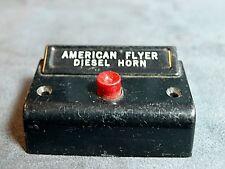 American Flyer Trains Original Diesel Horn Button